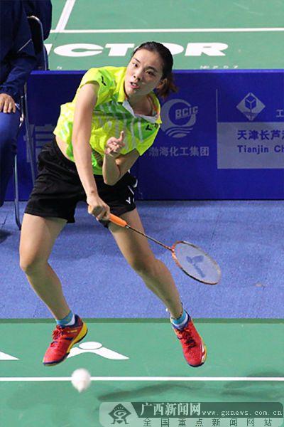 全运会羽毛球女团赛:广西跻身四强 半决赛战江苏