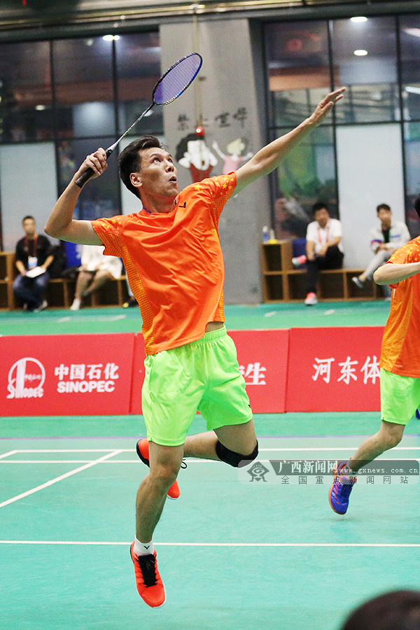 收获1银3铜 广西队结束全运会群众羽毛球比赛征程