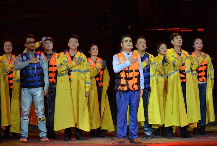 广西戏剧院创排现代桂剧《赤子丹心》