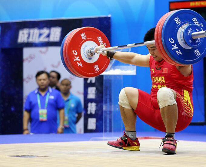 全运会男子举重卫冕冠军李兵冲金失败 无缘奖牌