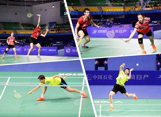 全运会羽毛球赛:广西鲁恺晋级决赛 陈晓欣将争铜