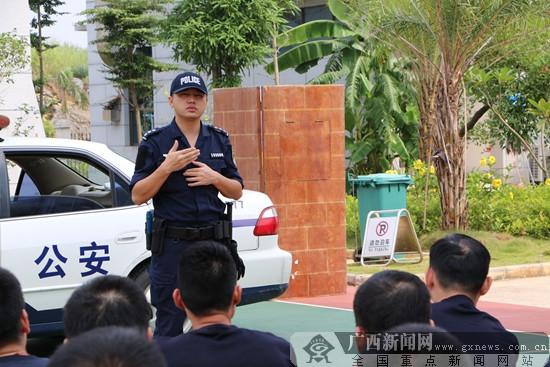南宁警营教官风采录 能文能武助力警务训练
