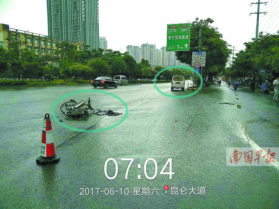 交通事故两车无碰撞 为何面包车司机仍可能担责