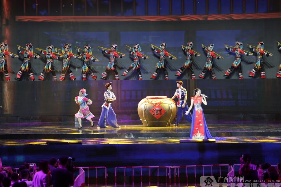高清组图:南宁国际民歌艺术节大彩排 精彩抢先看