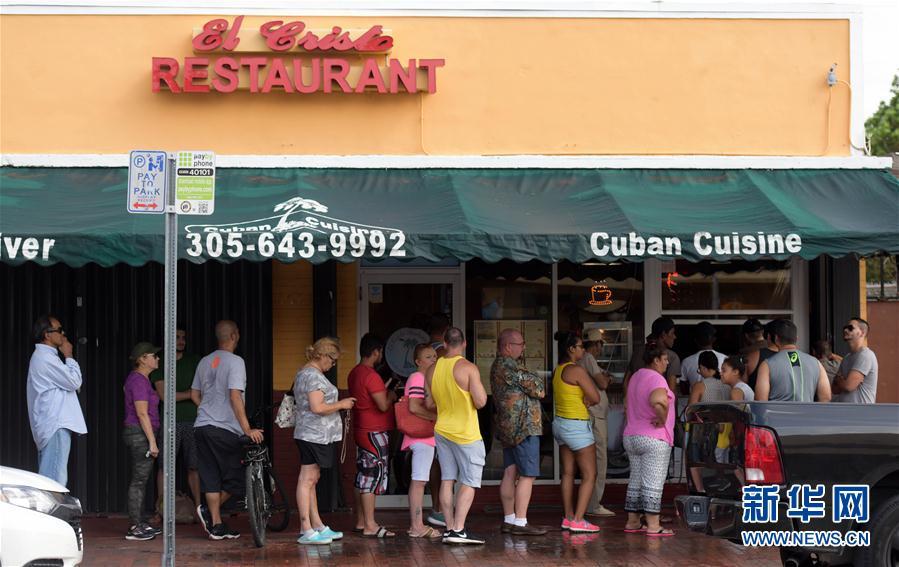 (国际)(3)飓风过后的迈阿密
