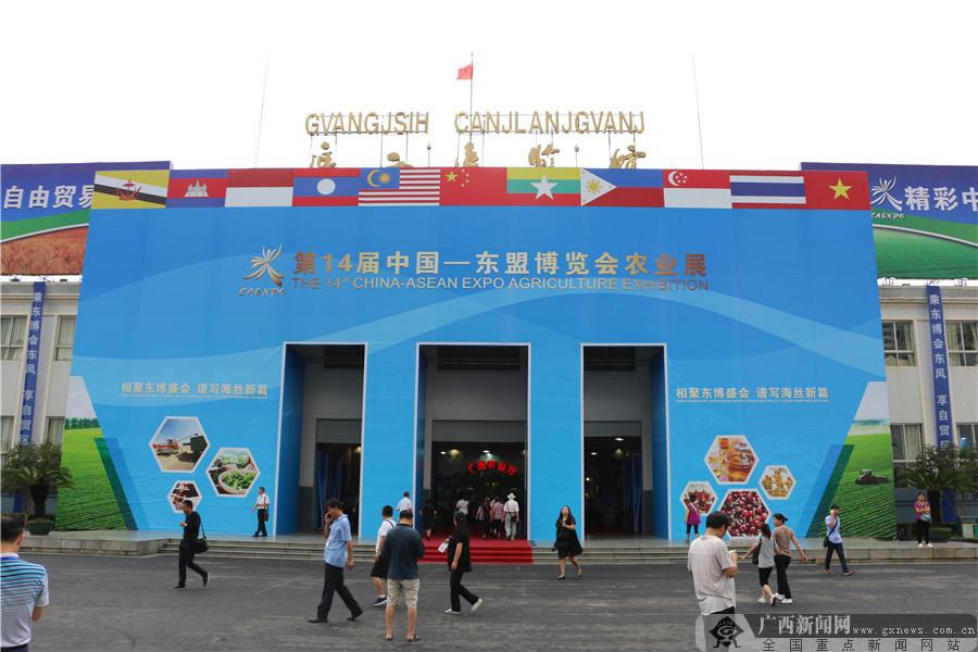 各地名优特产亮相第14届中国―东盟博览会农业展