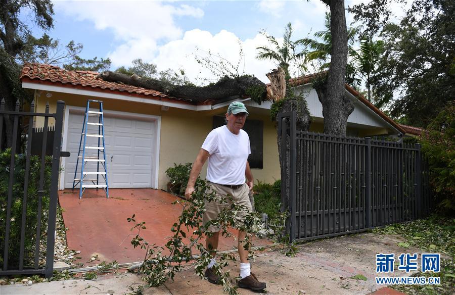 (国际)(4)飓风过后的迈阿密