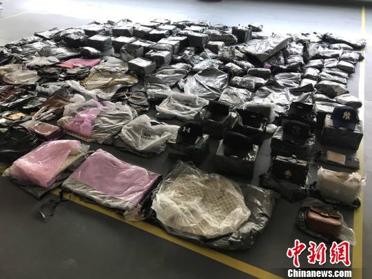 海关查获重庆最大宗行邮渠道侵权案(图)