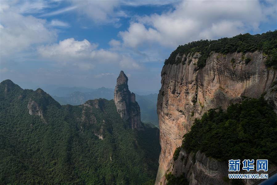 (美丽中国)(5)浙江神仙居:云雾缭绕 宛若仙境