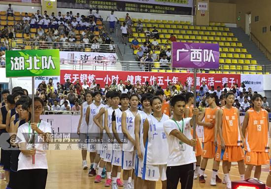 2017全国青年女子篮球联赛:广西队首战憾负广东队