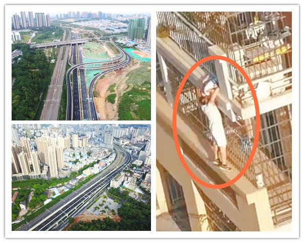 9月15日焦点图:南宁东西向快速路东段主线通车