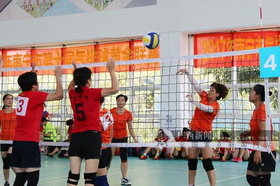 2017南宁市气排球黄金联赛开赛 重奖鼓励全民参与