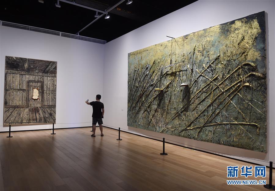 """(文化)(2)""""德国8――德国艺术在中国""""在京开幕"""