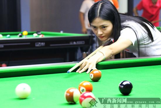 南宁台协中式台球赛落幕 年度内还有3场赛事推出