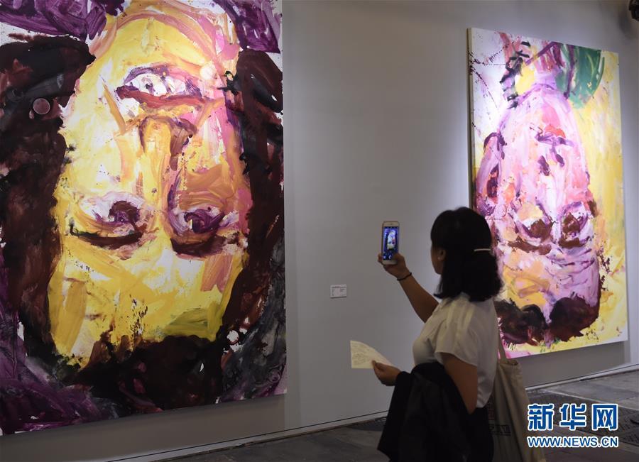 """(文化)(4)""""德国8――德国艺术在中国""""在京开幕"""