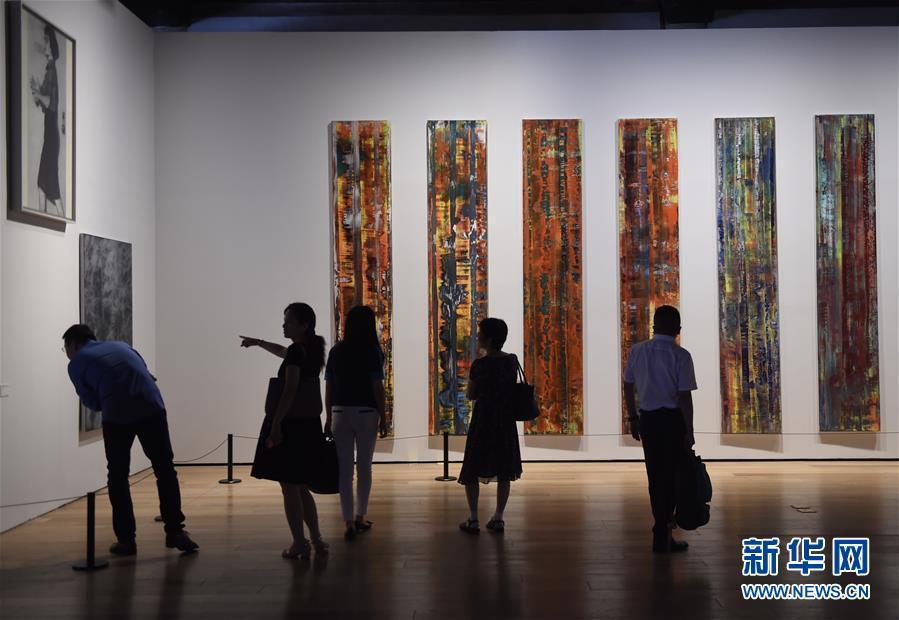 """(文化)(5)""""德国8――德国艺术在中国""""在京开幕"""