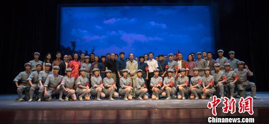 广西戏剧院京剧团晋京表演红色经典