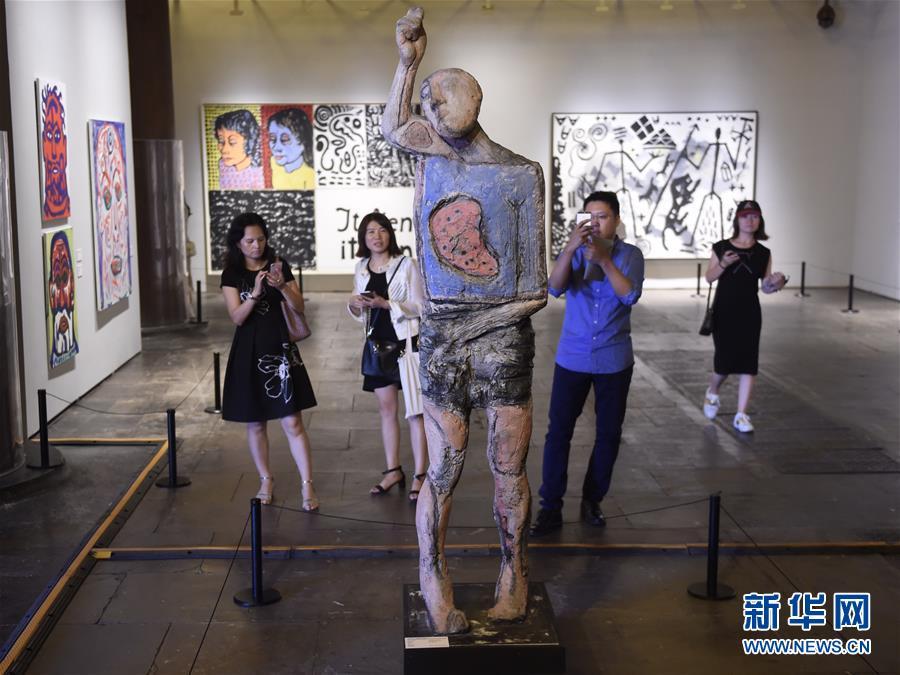 """(文化)(1)""""德国8――德国艺术在中国""""在京开幕"""