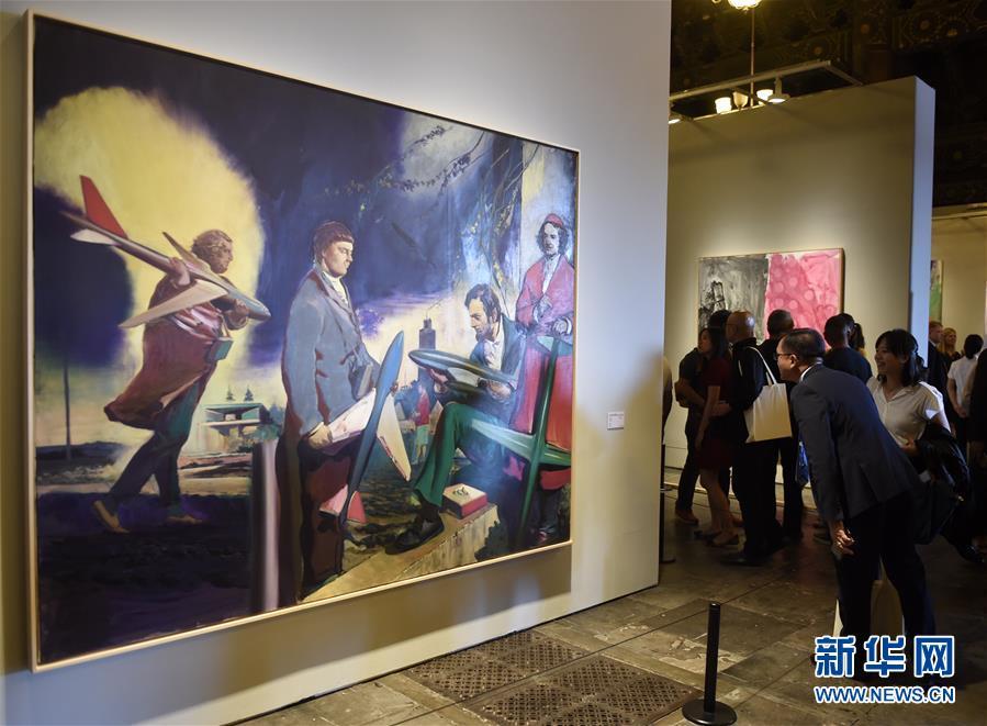 """(文化)(3)""""德国8――德国艺术在中国""""在京开幕"""