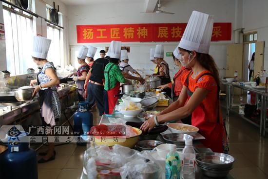 东南亚特色美食厨艺大赛开赛 上演美味盛宴(图)