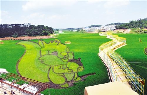 古辣镇稻田艺术文化节将举行