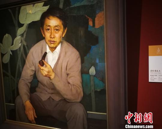 油画大师靳尚谊携画作《画家黄永玉》参加凤凰艺术年展