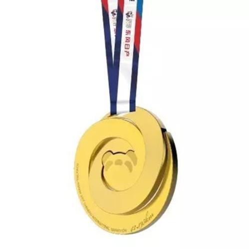 全马金色奖牌