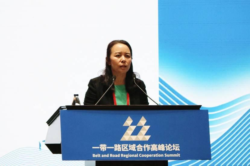 """蒙牛吴文婷:""""一带一路""""系乳业共赢新路径"""