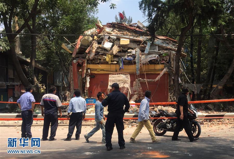 (国际)(1)墨西哥中部7.1级地震已造成47人死亡