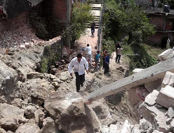 墨西哥中部地震遇难人数升至120人