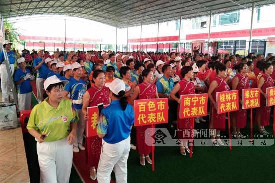 广西第七届老年人运动会拉开序幕 将持续至11月份