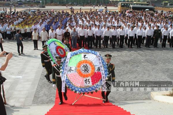 湘江战役・灌阳新圩阻击战酒海井红军烈士遗骸安葬