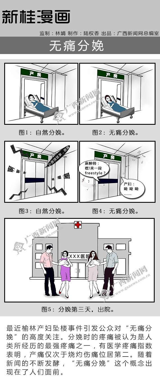 【新桂漫画】无痛分娩