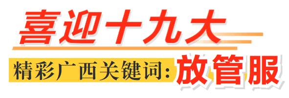 """[喜迎十九大 精彩广西关键词:放管服]""""放管服""""改出新天地"""