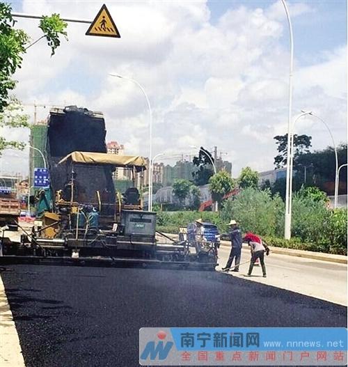 南宁维修2017环广西公路自行车世界巡回赛道所涉市管道路 月底完成