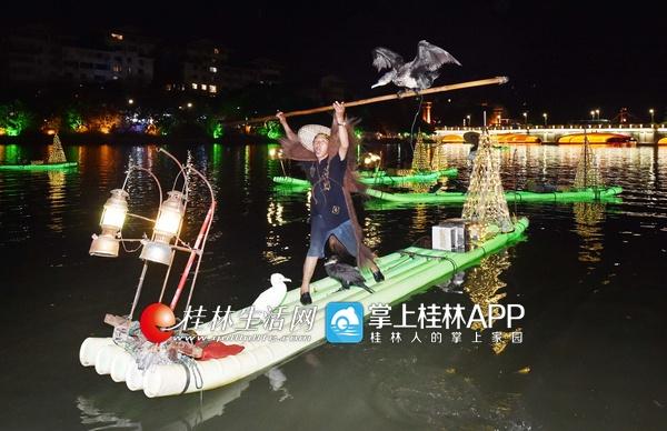 桂林:两江四湖又添两大新景 可赏春晚竹筏渔火秀