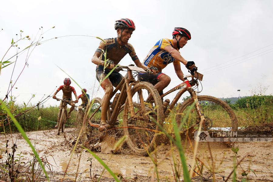 300余选手竞逐第八届中国・东盟山地自行车越野赛