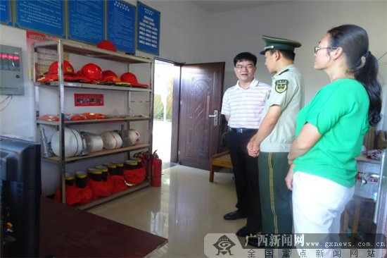 浦北开展国庆及中秋节前安全生产大检查