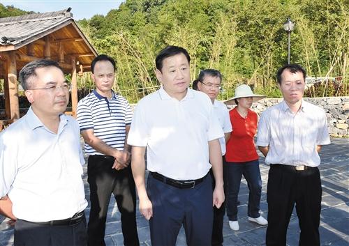 王小东到上林县调研服务自治区重大项目建设