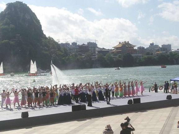 高清:2017中国柳州国际水上狂欢节启幕