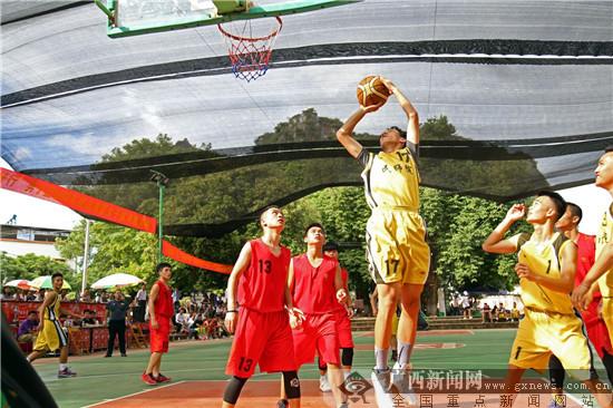 生态乡村渠仔屯办国庆篮球赛 引大学生组队下乡交流