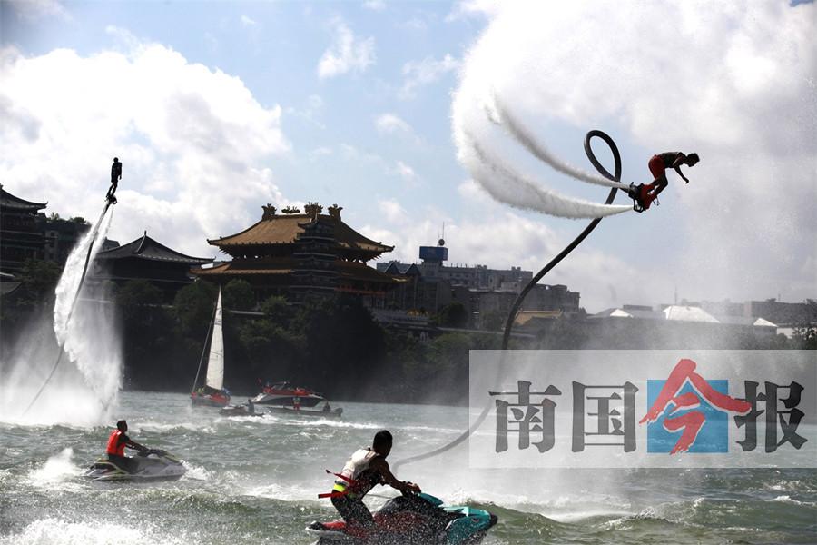 柳州国际水上狂欢节:水陆大狂欢 龙城喜迎八方来客