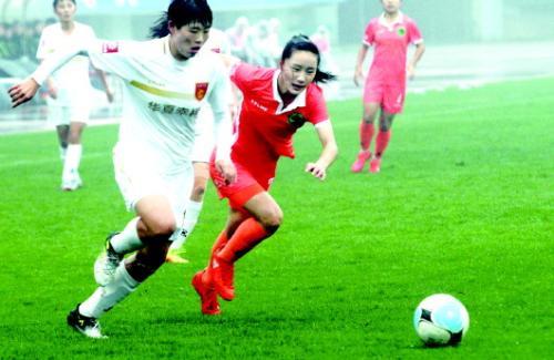 山东女足联赛最后一战没能抓住机会,最终惨遭降级。本报记者