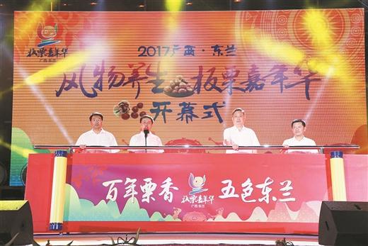 2017广正西·东方兰景物养生板栗嘉年华美满落幕