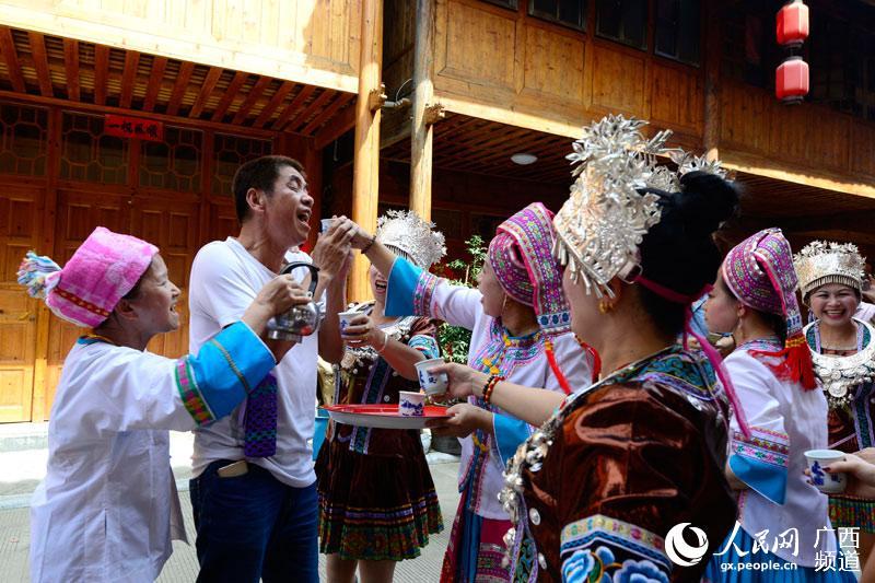 广西龙胜:鱼宴节庆丰收