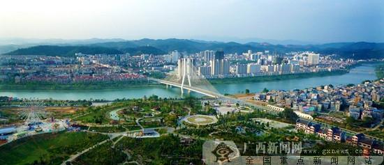 """百色市获""""国家森林城市"""" 为今年广西唯一入选城市"""
