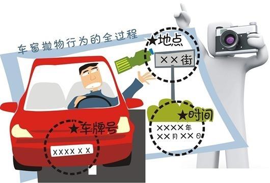 """柳州重罚""""车窗抛物""""为文明创建加把劲"""
