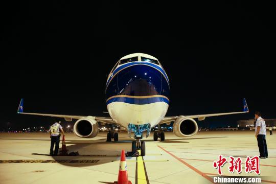 广州白云机场二号航站楼停机坪正式启用