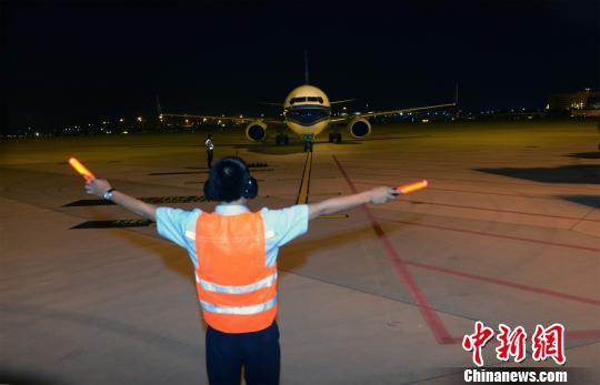 广州白云机场二号航站楼停机坪正式启用 白云机场供图
