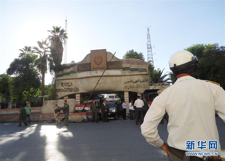 (国际)(1)叙利亚首都发生自杀式爆炸袭击致2死10伤